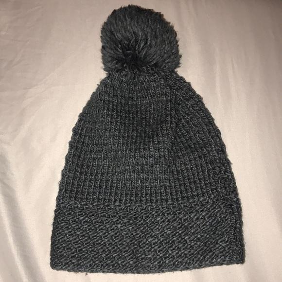 e3cacdc85148e9 GAP Accessories | Dark Grey Beanie Hat | Poshmark